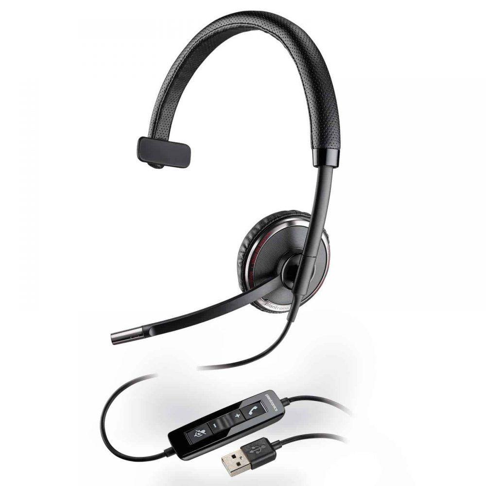 Plantronics Headset Profissional BlackWire C510 MonoAuricular